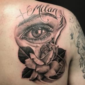 tattooshop, memories, niels, oog