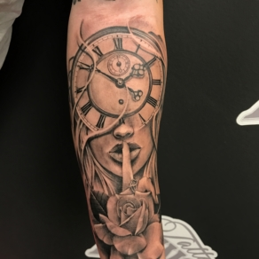 tattooshop, memories, niels, klok