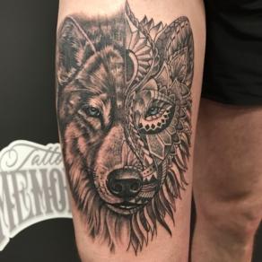tattooshop, memories, niels, wolf