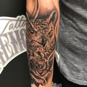 tattooshop, memories, niels, uil, arm