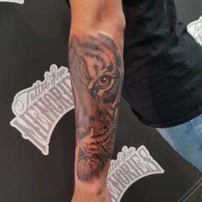 tattooshop, memories, randy, tattoo artist, tijger